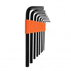 Набор шестигранных ключей 2,0-10 мм ( 8 шт.)  /Ермак/