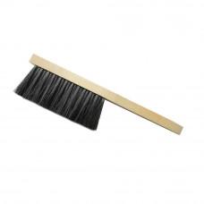 Щетка-сметка 3-х рядная 350 мм деревянная ручка
