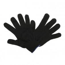 Перчатки х/б ПВХ 4нитки черные