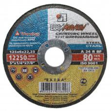 Круг зачистной по метал 125*6,0*22 (Луга)
