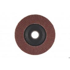 Круг лепестковый торцовый КЛТ 125*22 14А(Р100)  /Луга/