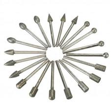 Головка алмазная коническая АГК 5/3*8*50*3 М (метал.связка)