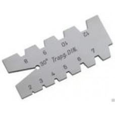 Шаблон для трапецидальной резьбы (арт.44550001)