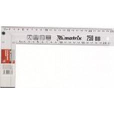Угольник разметочный 250 мм метал. /MATRIX/