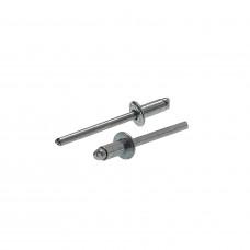 Заклепка 4,0*10 мм сталь/сталь